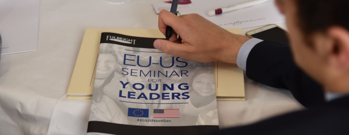 EU-U.S. Seminar for Young Leaders: Future of Work