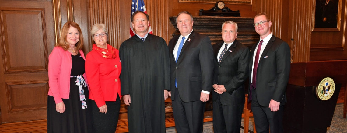 Mike Pompeo Sworn in as Secretary of State